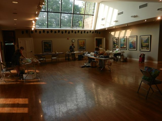 Encaustic Group at the Providence Art Club