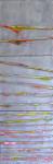 Strata, Various, 24x8, encaustic