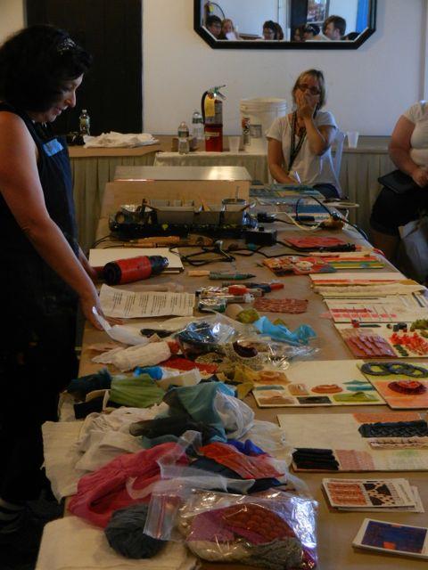 Creating Texture and Dimension w/ Textiles: Susan Lasch Krevitt